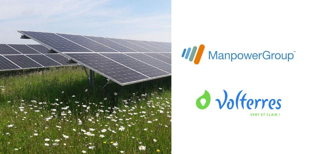 visuel partenariat ManpowerGroup & Volterres